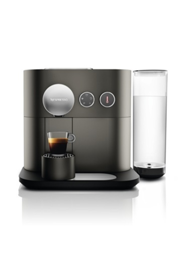 D80 Expert Anthracite Grey Kahve Makinesi-Nespresso